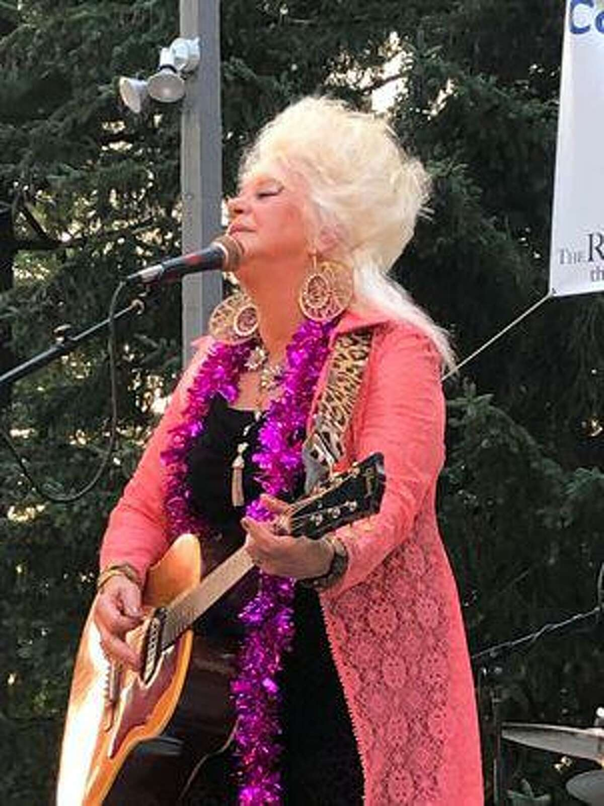 Singer Christine Ohlman is performing at the Gilson Theatre in Winsted.