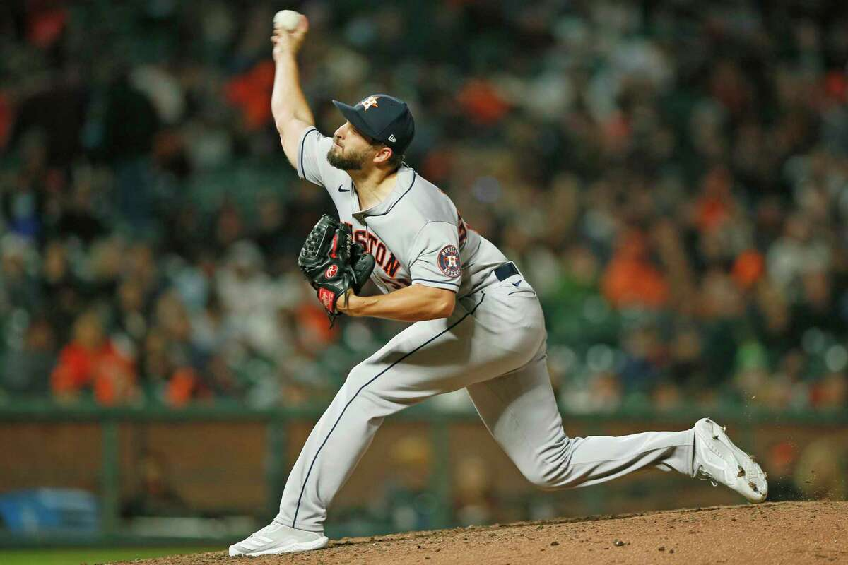 Kendall Graveman says he's poised to throw more than an inning when necessary, as he did in his Astros debut last Friday night against the Giants.