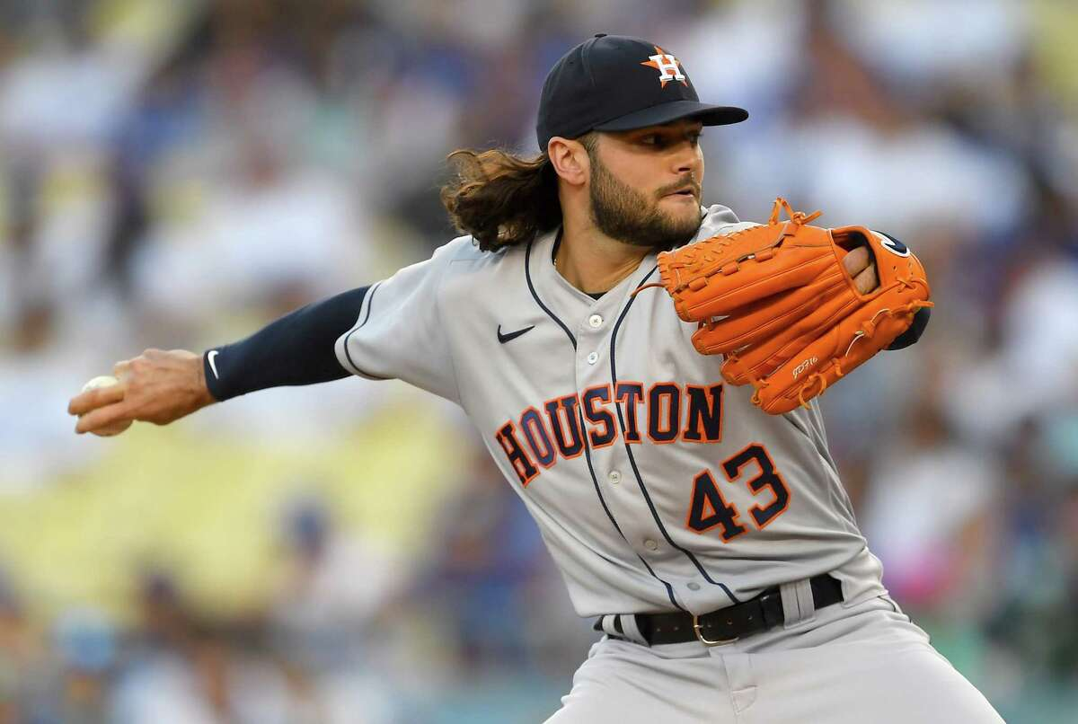 """Lance McCullers Jr. called his six-plus shutout innings Tuesday against the Dodgers """"probably the most fun I've had pitching in quite a long time."""""""