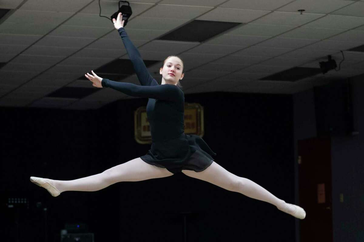 Catherine Zorn practices ballet at her dance studio, Sunday, July 4, 2021 in Tampa.