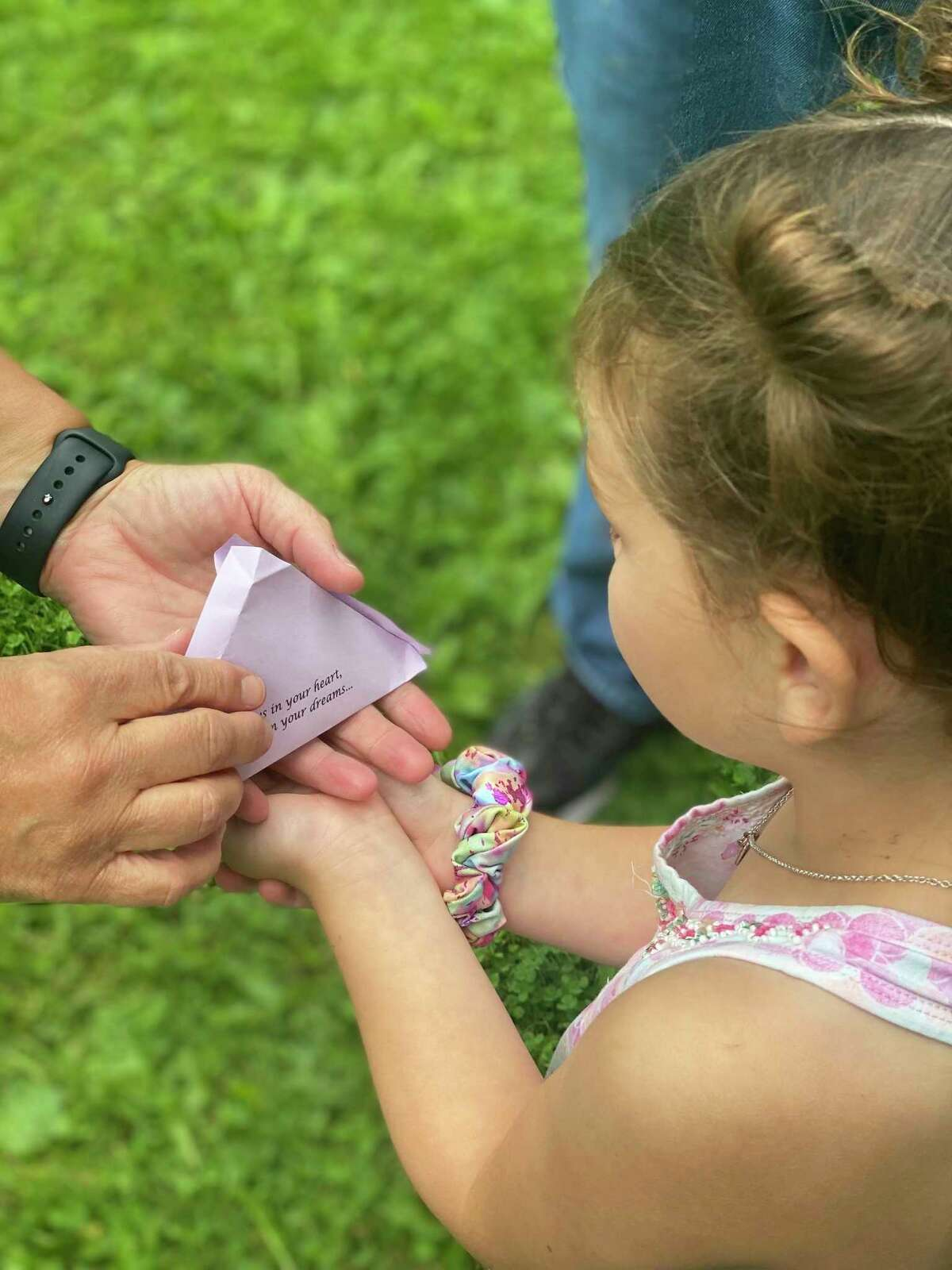 The annual Butterflies in the Park event includes a live butterfly release to commemorate and honor loved ones participants have lost. (Photo provided)