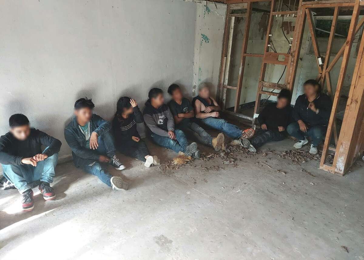 A total of 100 migrants were discovered this weekend in multiple Laredo stash houses, according to the USBP.