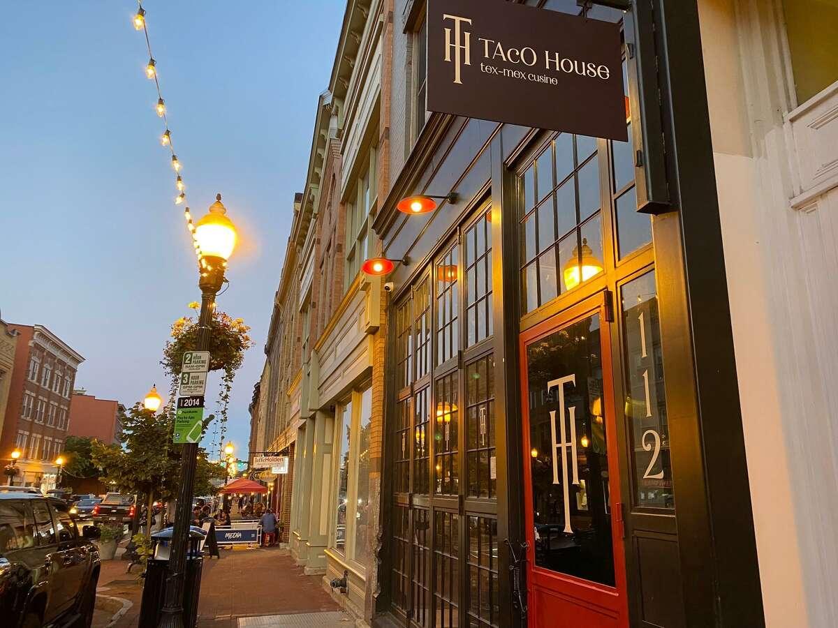 Restaurants on Washington Street in Norwalk, Conn.