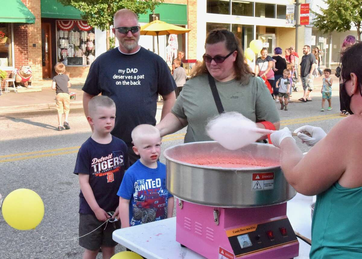 Local law enforcement agencies teamed up Tuesday to host National Night Out in downtown Big Rapids. National Night Out is an annual community-building campaign that promotes police-community partnerships and neighborhood camaraderie.