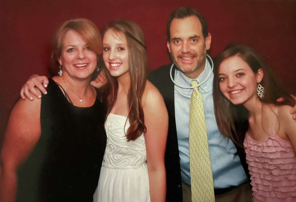 Bob LeRose and his family have received number of contributions given to the GoFundMe campaign to support his medical expenses in his cancer fight. Pictured are his wife Kelley, daughter Meghan, Bob LeRose, and daughter Alex.