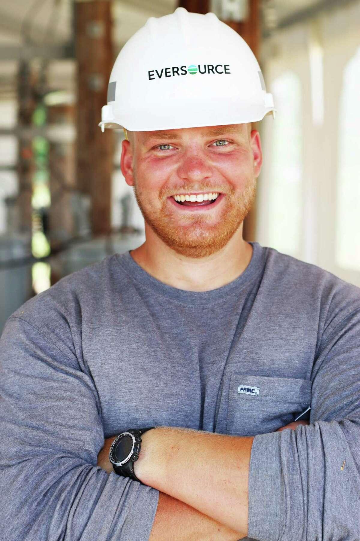Evan Salisbury of East Hampton is an Eversource Electrical Lineworker Certificate Program student.