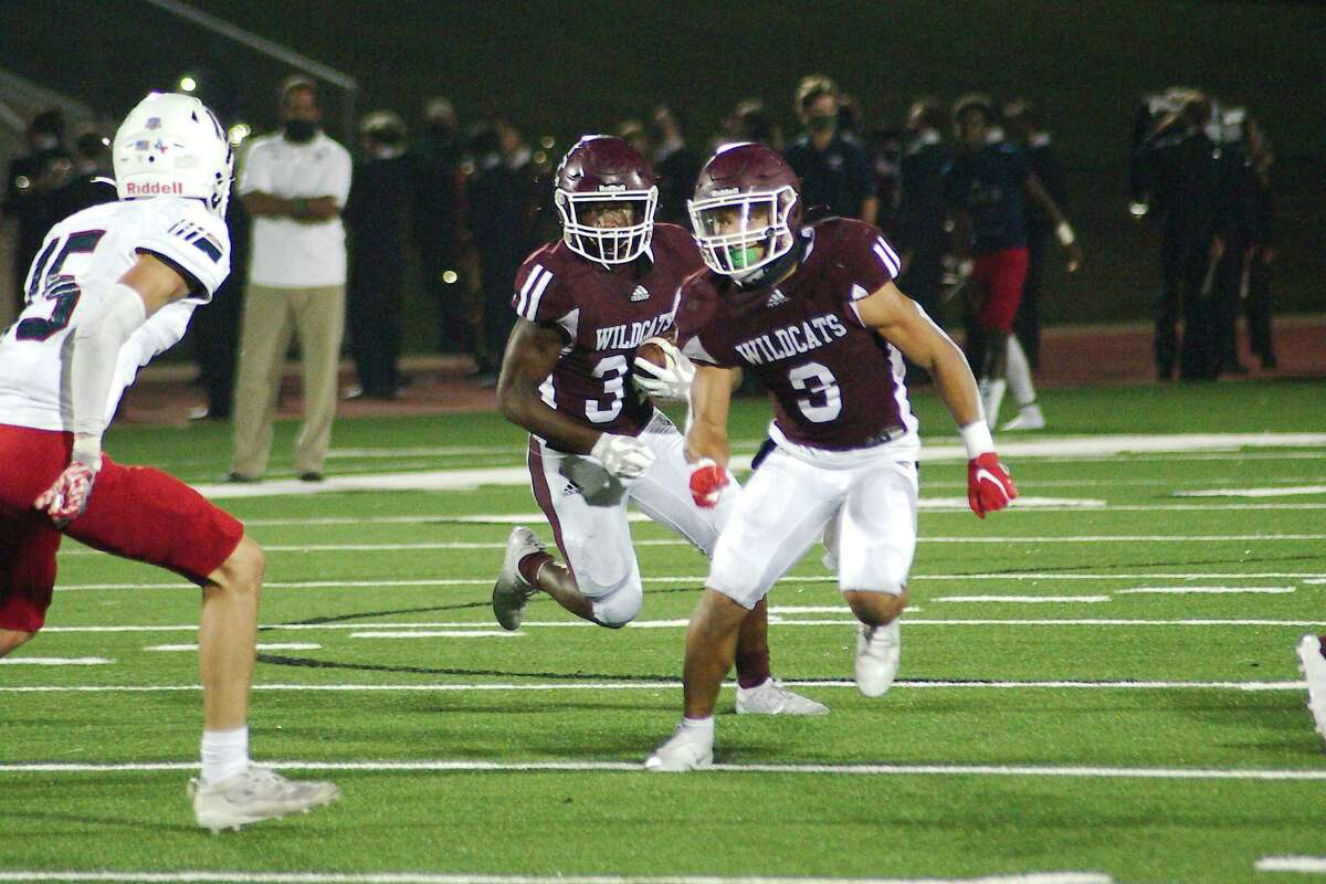 Rocky Ketchum (34) and Jeremiah Crum (3) provide Clear Creek with a potent running package for the 2021 football season.