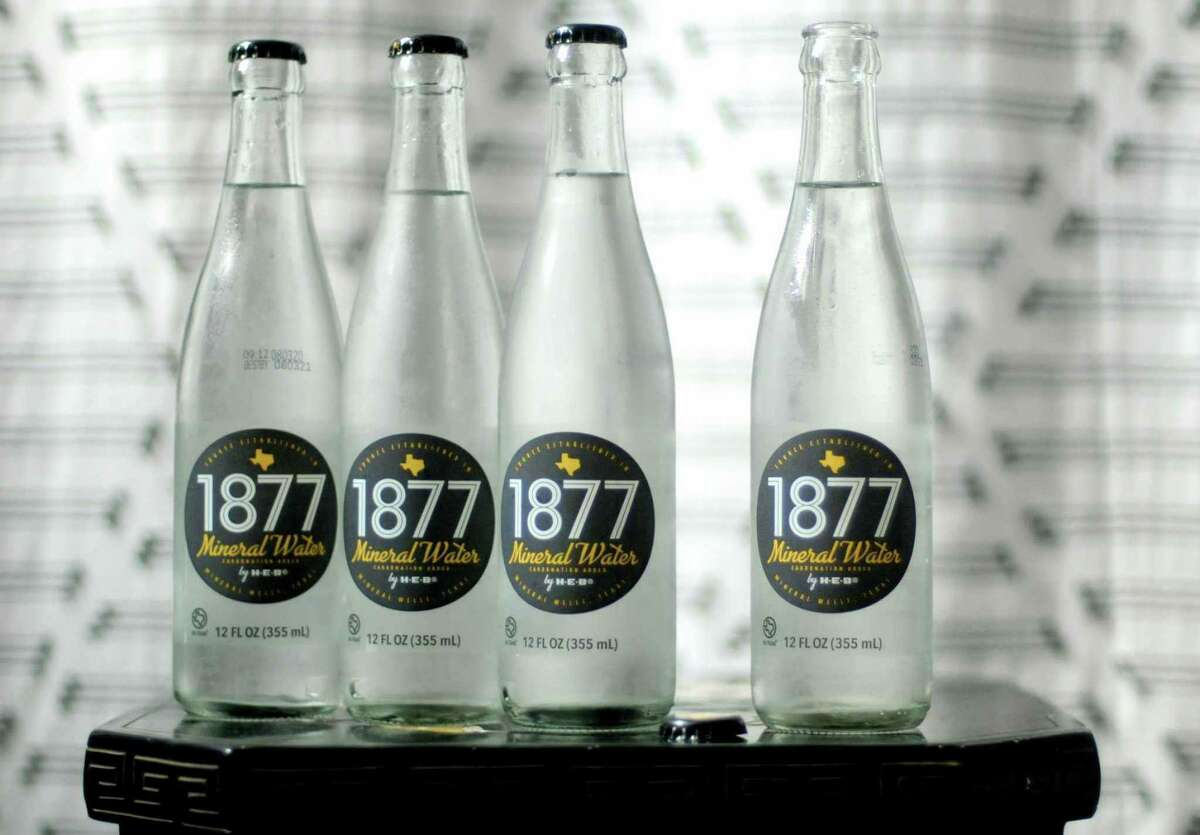 H-E-B launched 1877 Mineral Water made with water from Mineral Wells in 2020.