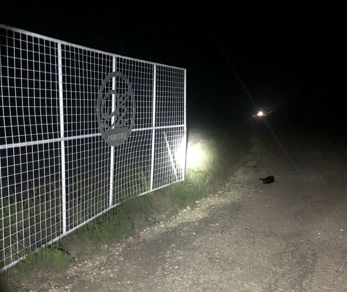 The U.S. Border Patrol announced that a stolen vehicle pursuit near Freer resulted in multiple damaged gates.