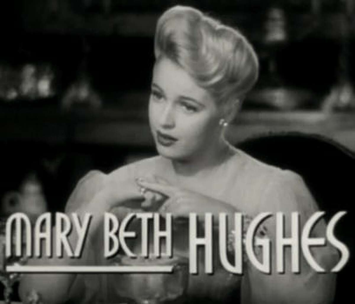"""Mary Beth Hughes:Hughes was born in Alton and moved away after her parents divorced when she was a baby. But, she's a River Bend native nonetheless. Hughes made it big starring in B-movies and at one point had arranged dates with several Hollywood legends like Jimmy Stewart and Mickey Rooney. She starred alongside Henry Fonda in the best picture nominated film, """"The Ox-Bow Incident."""""""