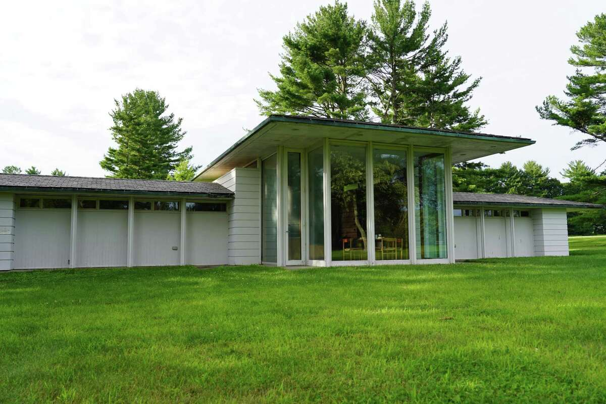 Gores Pavilion in Irwin Park in New Canaan will be getting a new roof, gutters and fresh paint.