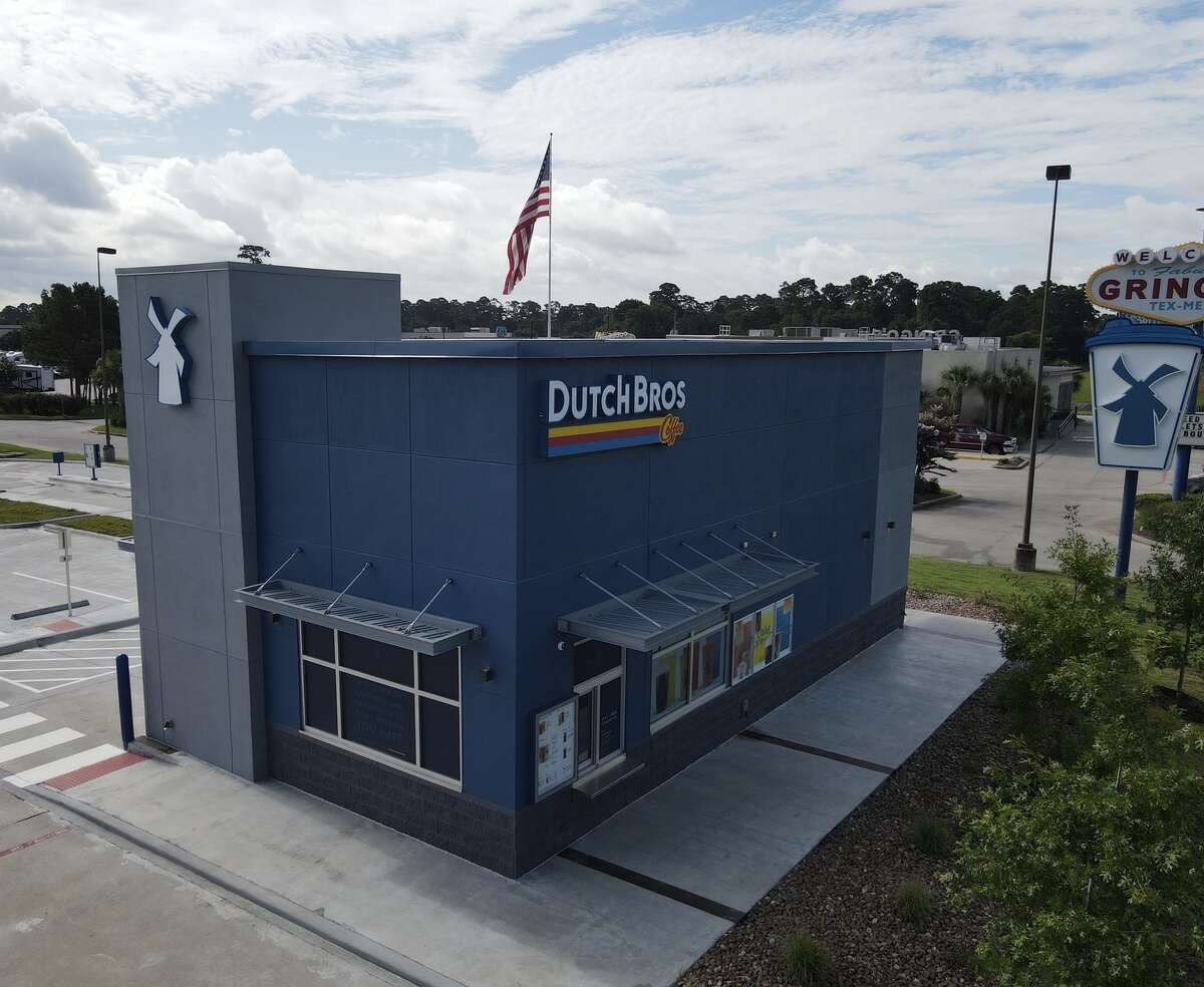 Dutch Bros Coffee, a drive-thru coffee company based in Grants Pass, Ore., is expanding into Houston. The first of several planned loactions is now open at 19366 Interstate 45 in Spring.