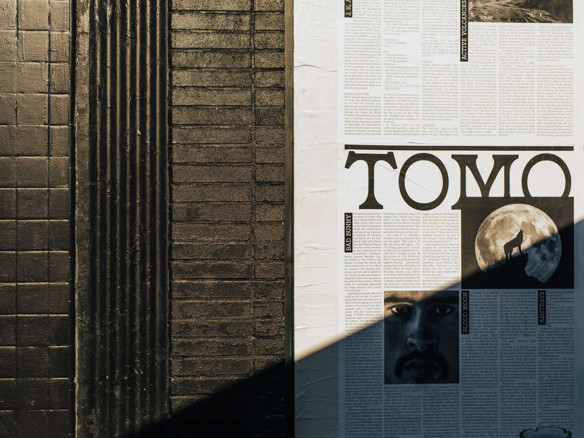 Part of the exterior of Tomo in White Center.