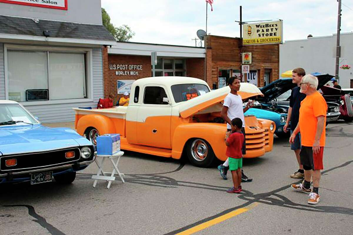 The 2021 Morley Celebration on the Pond kicks of witha car-truck-tractor-semi show from 4-7 p.m. Friday, Aug. 6, followed by a Parade of Lights at 9 a.m. and fireworks. (Pioneer file photo)