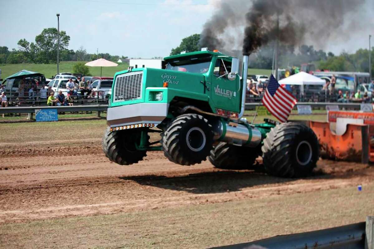 Tractors and trucks of all sizes will be roaring into Morley for theannual Celebration on the Pond. Truck and tractor pulls will run throughout Saturday, Aug. 7. (Pioneer file photo)