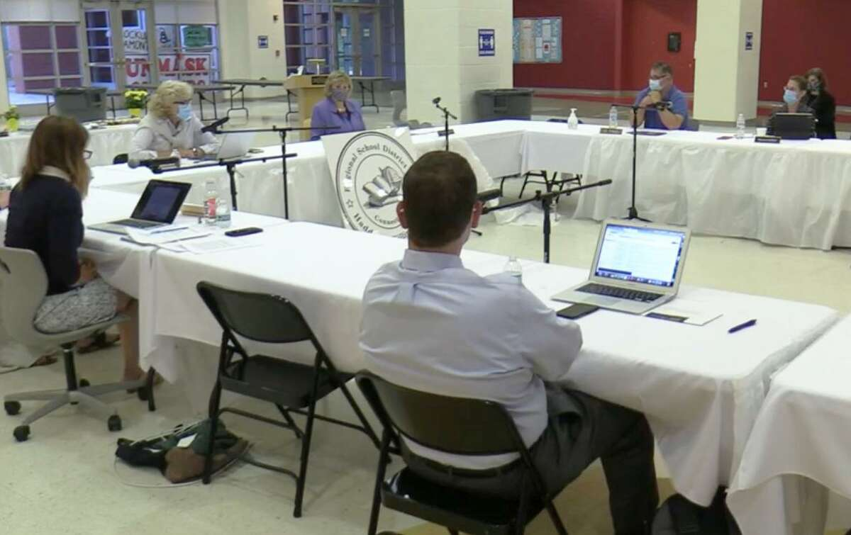 The Regional School District 17 Board of Education met Tuesday night at Haddam-Killingworth Middle School at 451 Route 81.