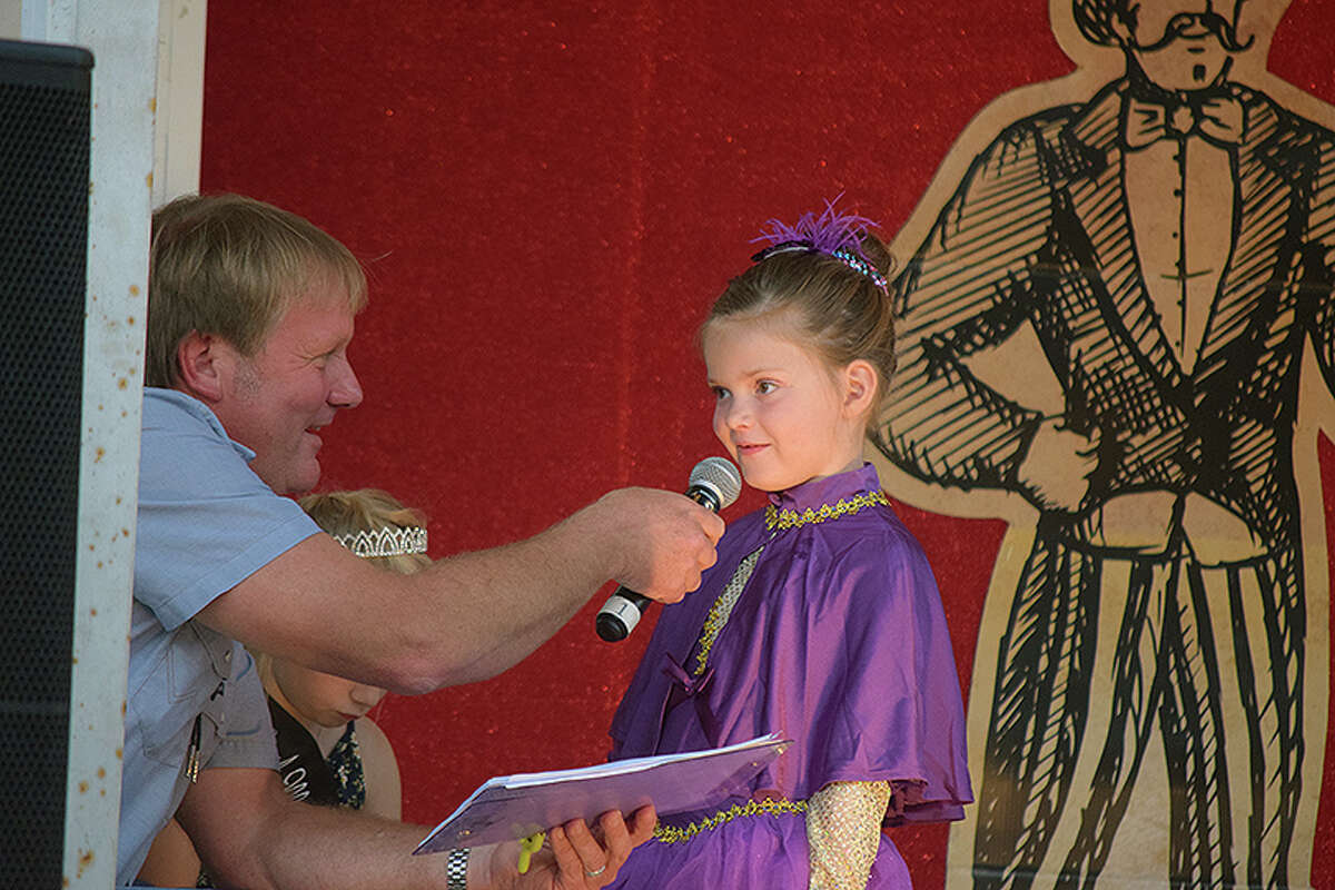 Scenes from the Brown County Fair and pageants.