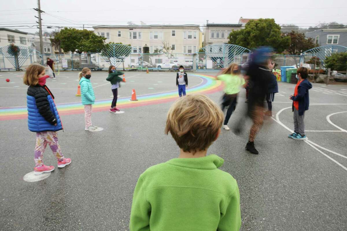 The San Francisco Unified School District asked all of its nearly 10,000 employees to submit their COVID vaccination status by Aug. 31. Only about 7,500 responded.