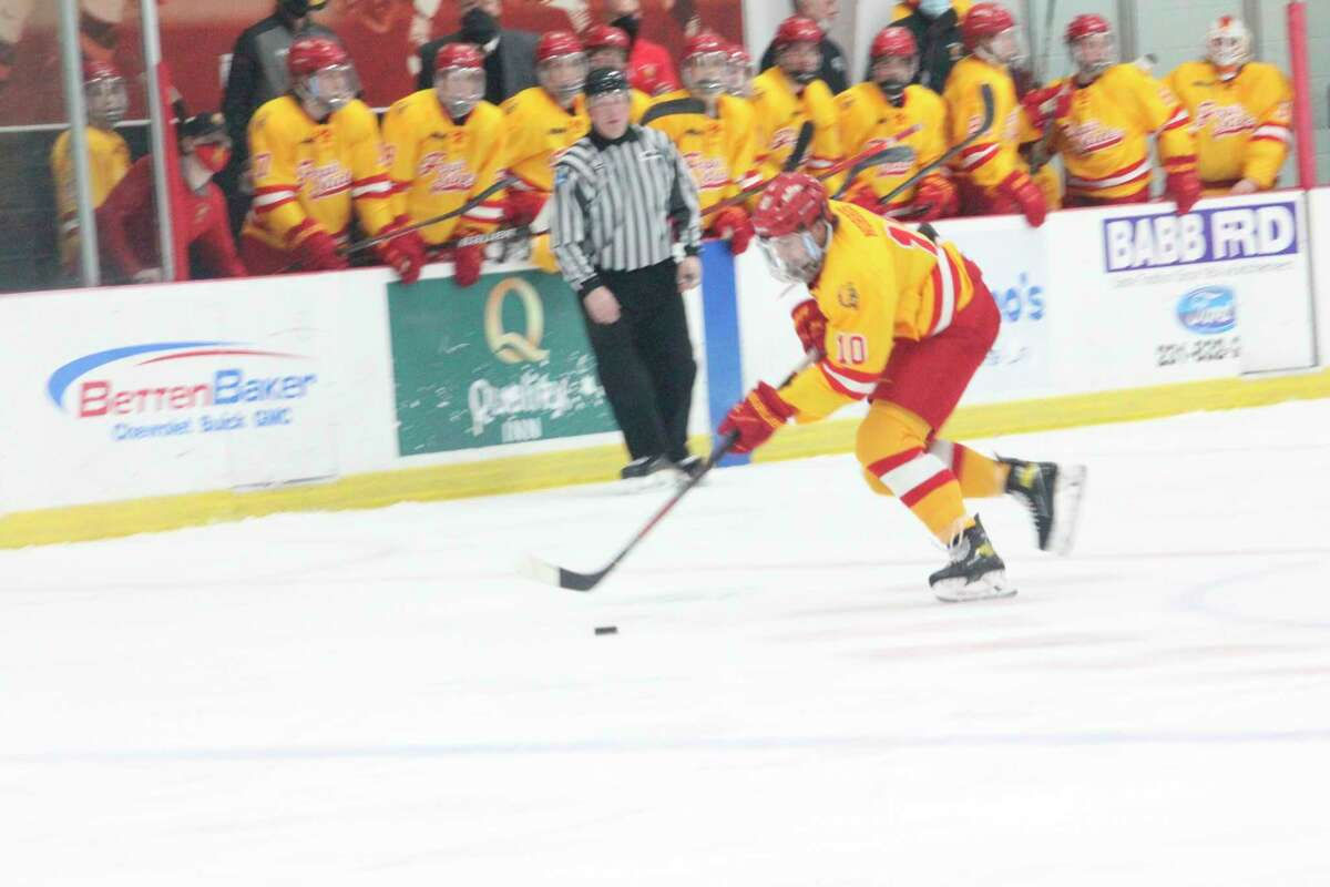 Ferris' hockey team is ready to provide another action-packed season for its fans. (Pioneer file photo)