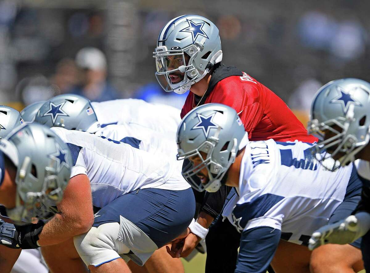 Quarterback Dak Prescott and the Dallas Cowboys will face the Pittsburgh Steelers in the Hall of Fame Game in Canton, Ohio, at 5 p.m. Thursday. ( Channel: 2Channel: 40)