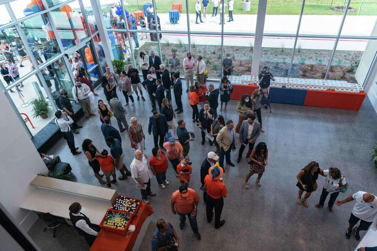 The grand opening of UTSA's Roadrunner Athletics Center of Excellence on Aug. 4 in San Antonio.