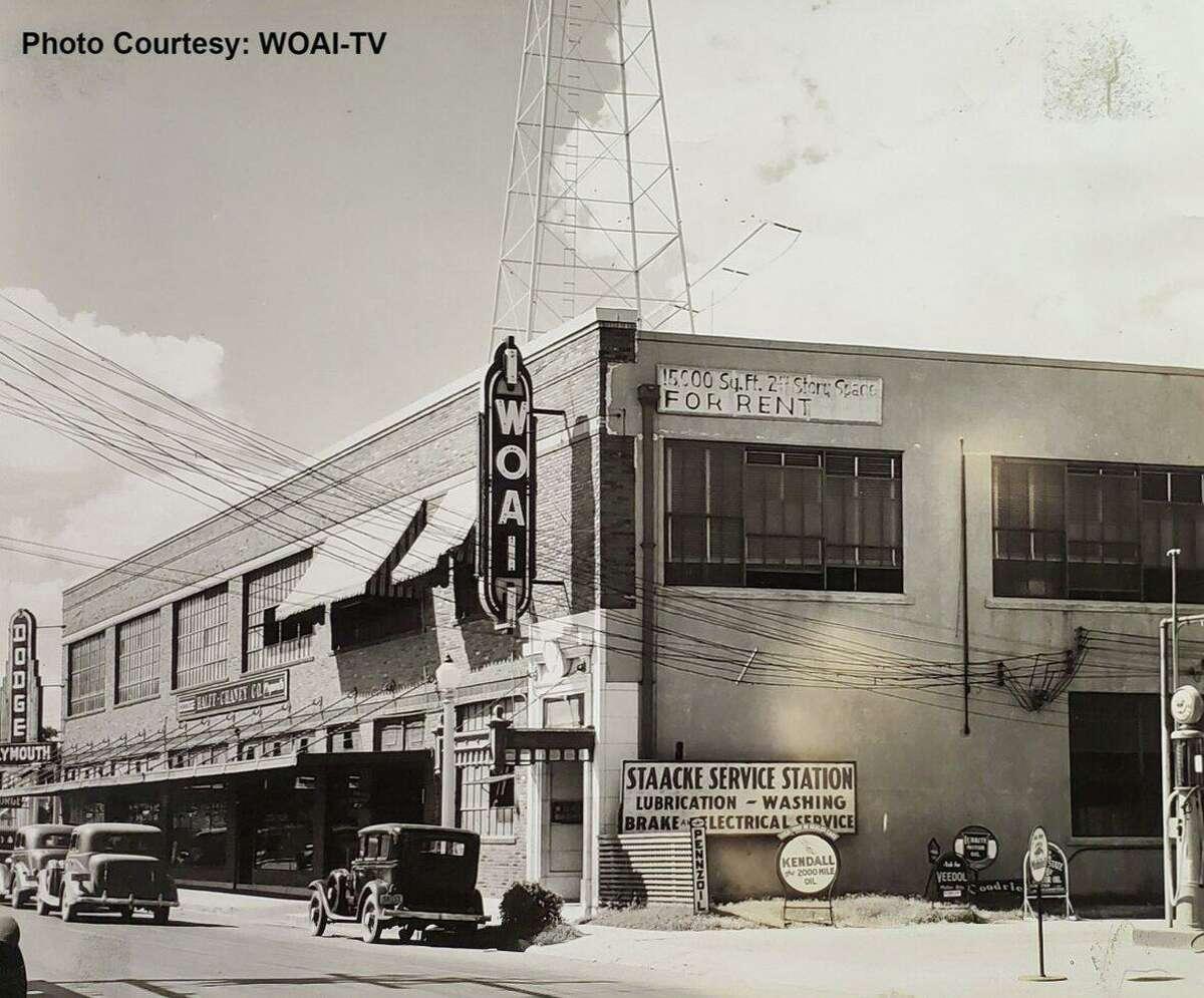 Photos show the former home of WOAI over the decades.