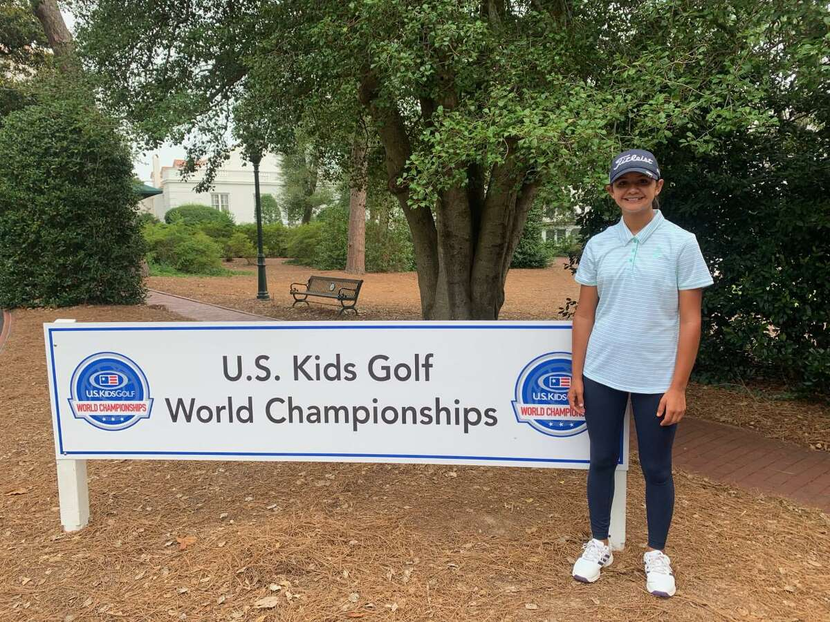 Laredo's Alyssa Esparza shot a three-day total of 241 to place 34th out of 104 golfers at the U.S. Kids Golf World Championships in Pinehurst, North Carolina.