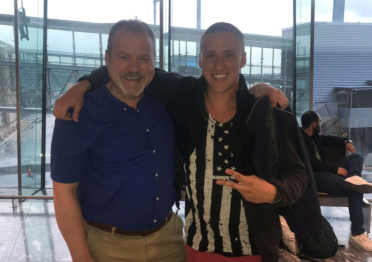In 2019, Nicholas Morrison, 26, met his biological father, Elias Nornes, for the first time in Norway.