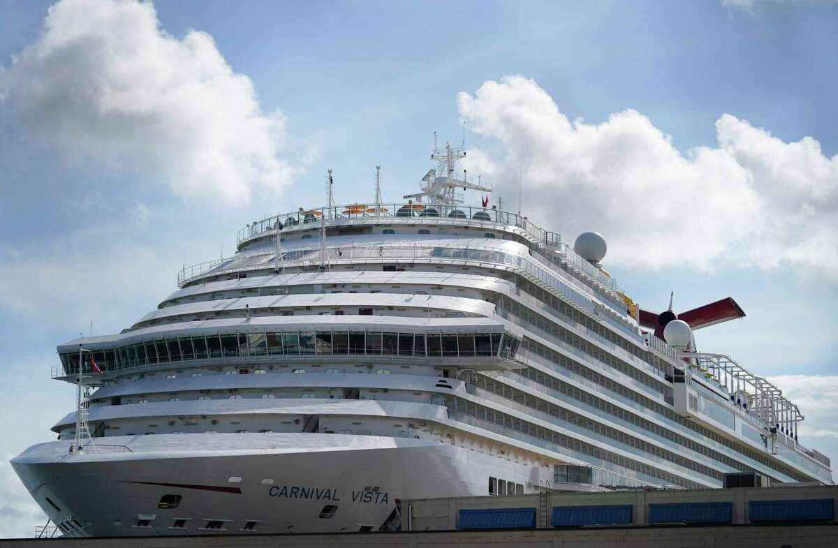 The Carnival Vista was the first cruise to sale out of the Port of Galveston, since the pandemic hit.