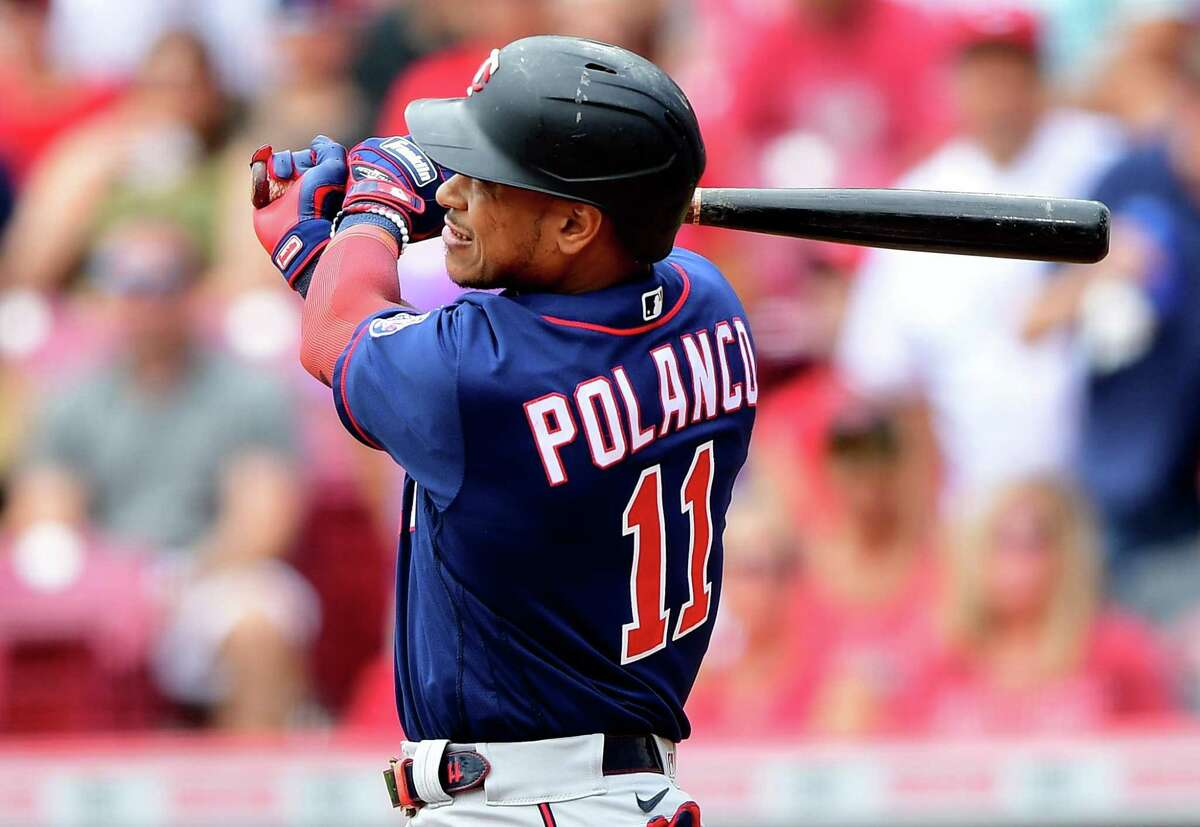 Minnesota's Jorge Polanco connected for his 18th homer of the season in Wednesday's first inning at Cincinnati, extending his hitting streak to eight games.