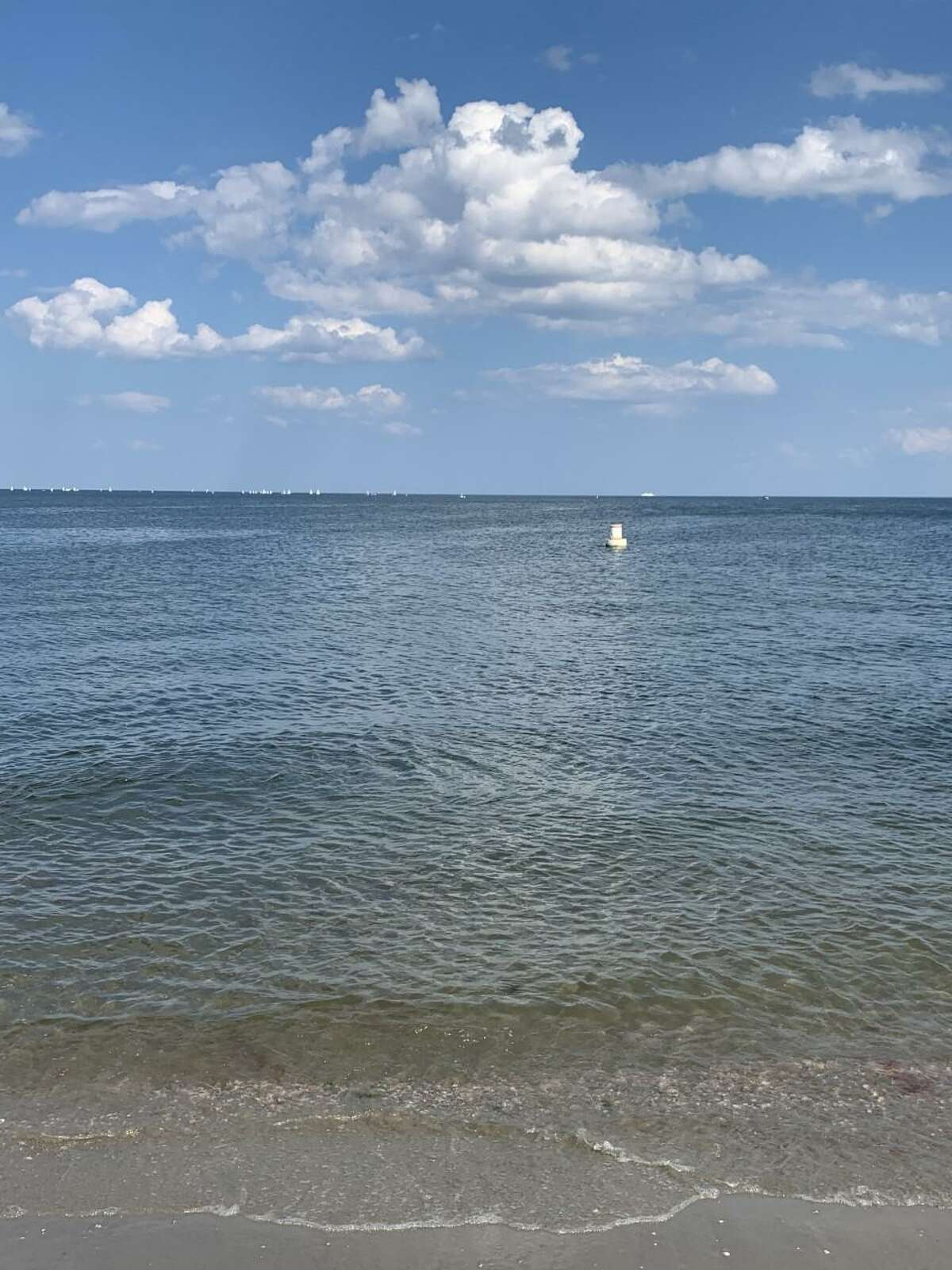 Matt Podolsky, who is of Fairfield, recently took this photo at the Penfield Beach in the town on Friday, July 30, at 4 p.m., with sunny skies, some light clouds, some wind, and 82 degree weather.