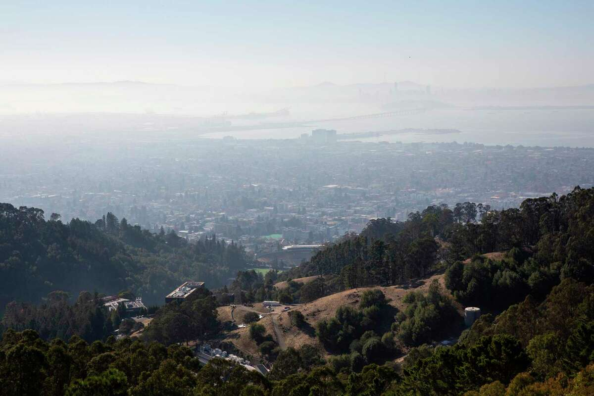 Wildfires are a major contributor to air pollution in the Bay Area.