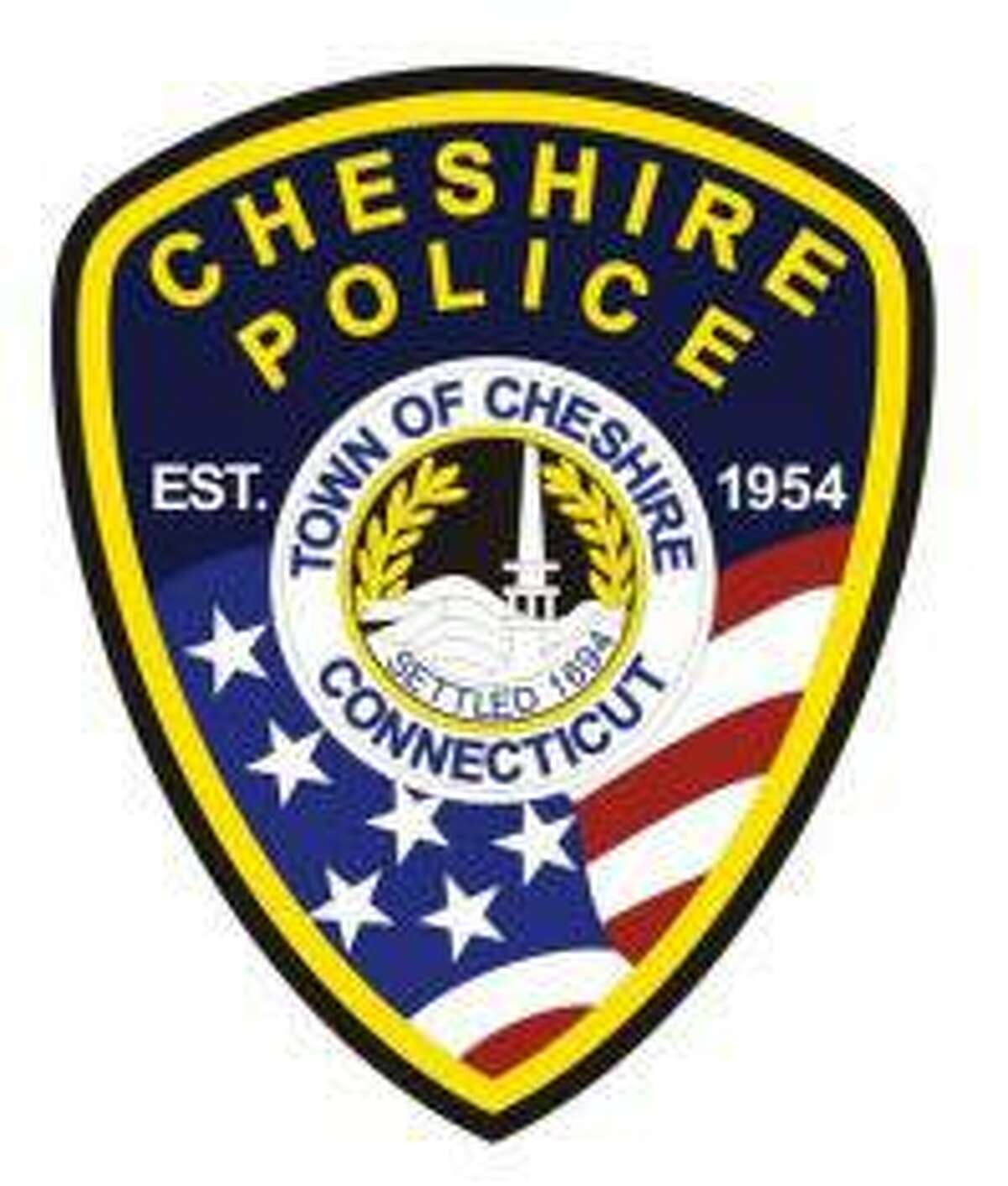 The logo of the Cheshire Police Department.