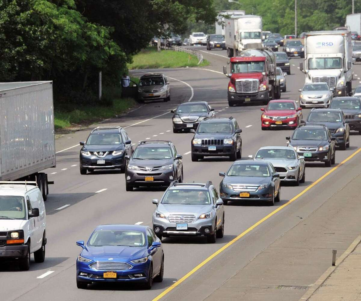 Tackling Connecticut's congested interstate highways is a top priority of Gov. Ned Lamont and will likely be among projects funded with anticipated federal support under the pending trillion-dollar infrastructure bill.
