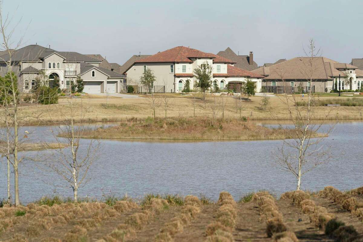 Josey Lake, a 140-acre waterway in Bridgeland, is shown Thursday, Jan. 28, 2021 in Cypress. Developer Howard Hughes Corp. said it would offer a community of 263 homes built expressly to rent in the community.