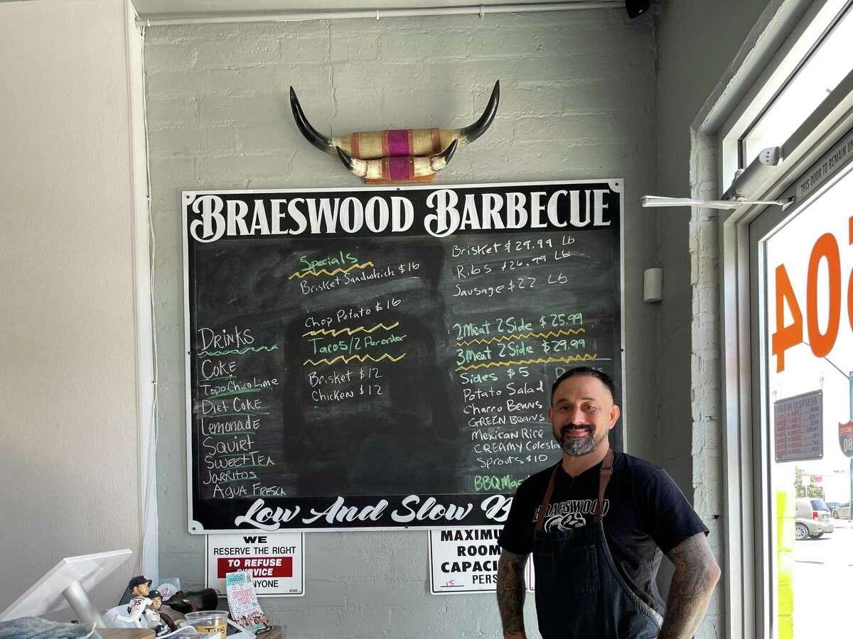 Owner-pitmaster Gerald Casas at Braeswood Tex-Mex BBQ, Las Vegas