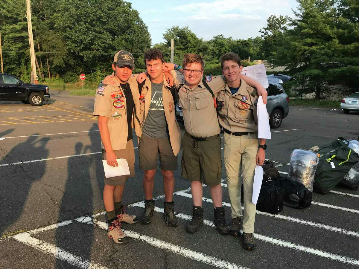 Scouts in Wilton BSA Scout Troop 20 have just returned from a two week adventure to Philmont Scout Ranch. Philmont is the Boy Scouts of America's, (BSA), premier High Adventure base in Colfax County in New Mexico's Southern Rocky Mountains.