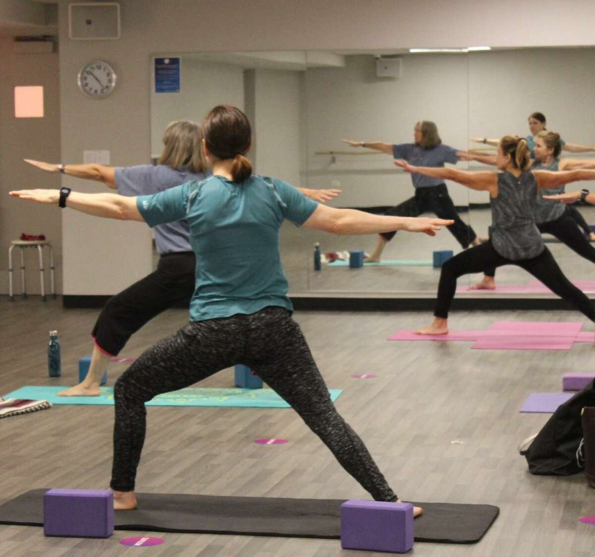 Fall registration for the New Canaan YMCA's variety of classes, programs, and activities for all ages is beginning on Monday, August 9. Pictured is a previous class at the non-profit organization in the town.