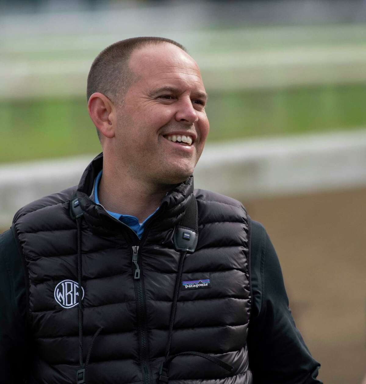 Trainer Chad Brown has high hopes for Raging Bull in the Fourstardave on Saturday.