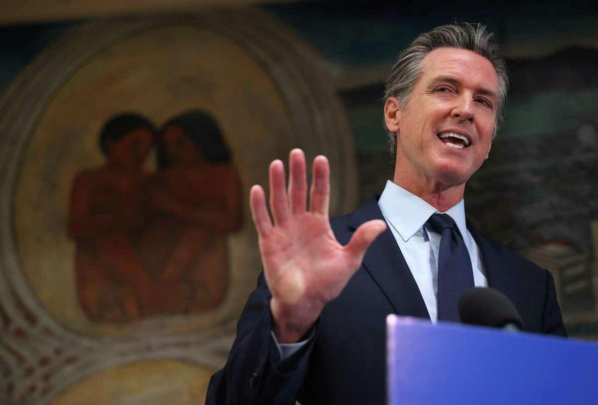 "California Gov. Gavin Newsom may continue calling the recall election a ""Republican power grab,"" a judge has ruled."