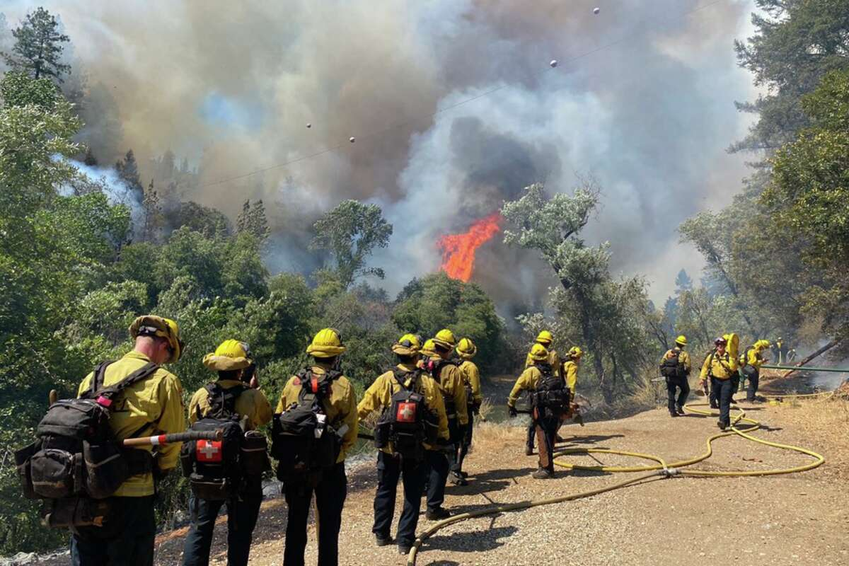 CalFire tweeted Aug. 5, 2021 that the River Fire is burning an estimated1400 acres and is 0% contained.