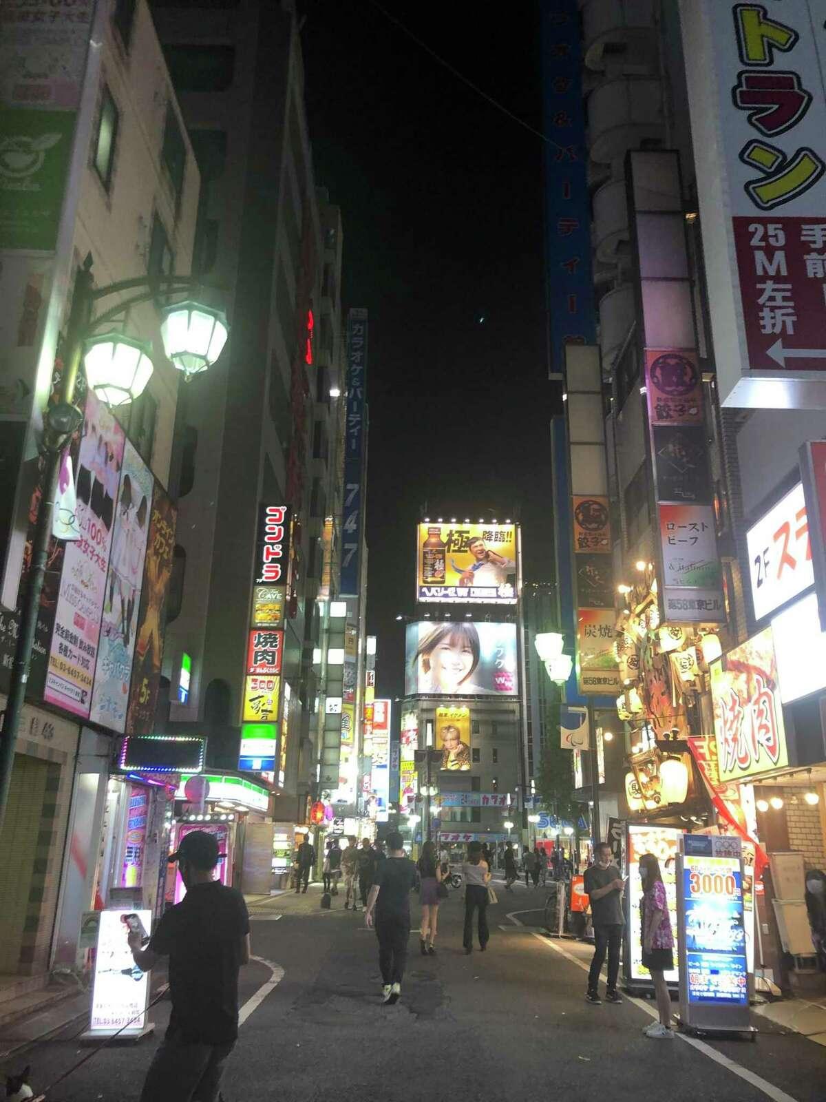 Scenes from Tokyo.