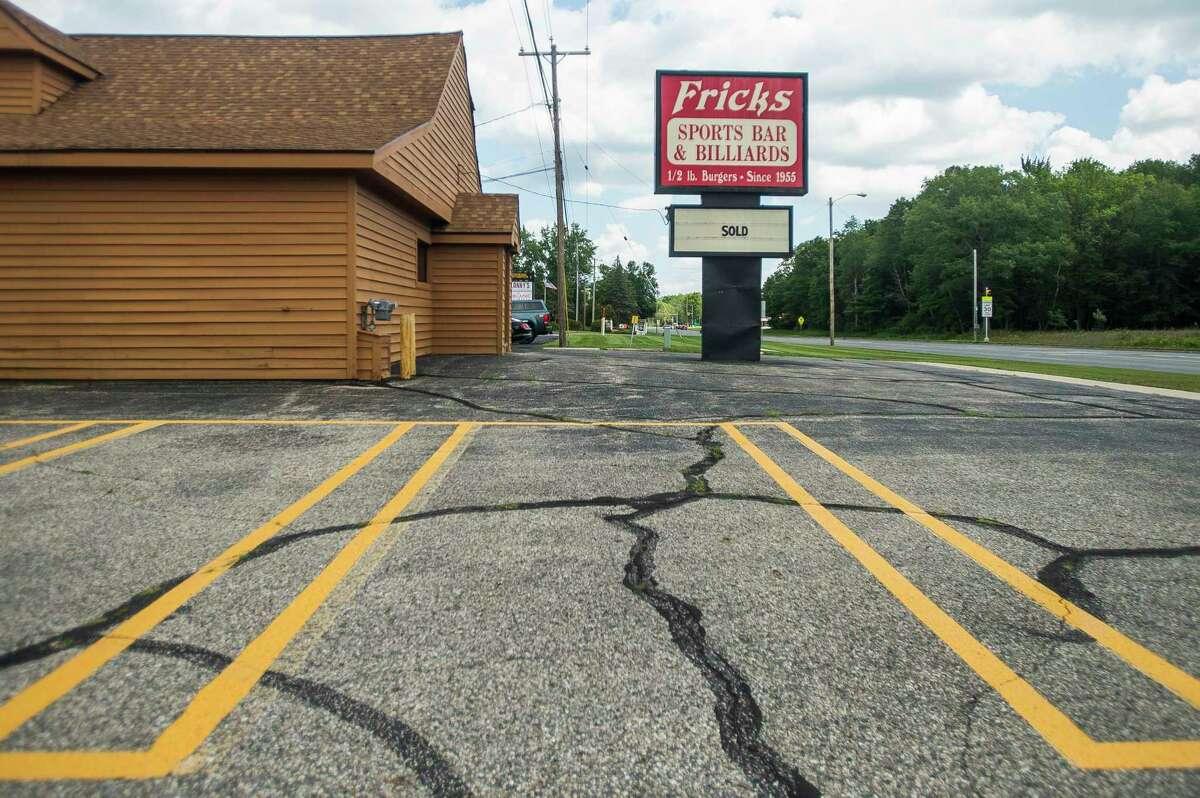Frick's Bar, located at 4408 N. Saginaw Road in Midland, has been sold. (Katy Kildee/kkildee@mdn.net)