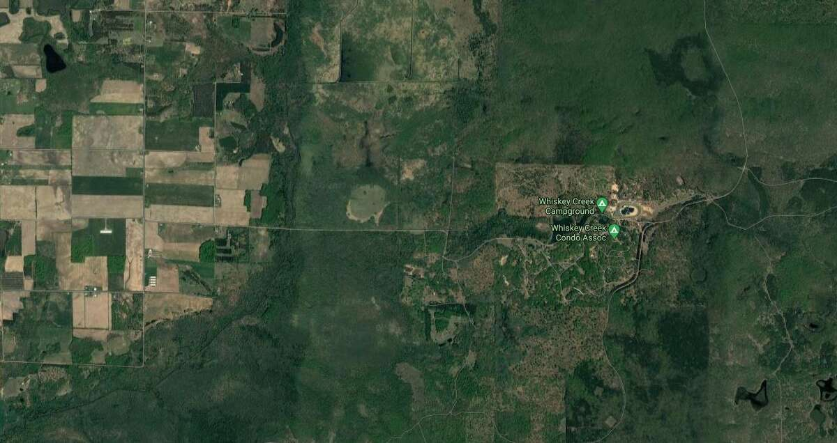 Michigan Department of Natural Resources conservation officer Josiah Killingbeck located an injured man at the Whiskey Creek area, southeast of Ludington.