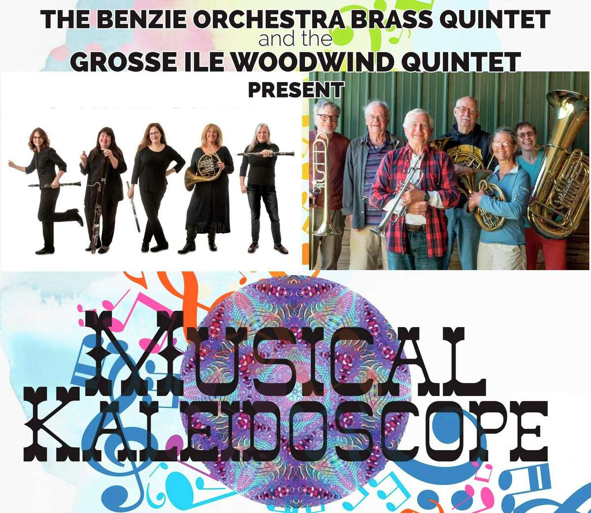 The brass quartet from the Benzie Area Symphony Orchestra will be performing with theGrosse Ile Quintet on Aug. 8. (Courtesy Photo)