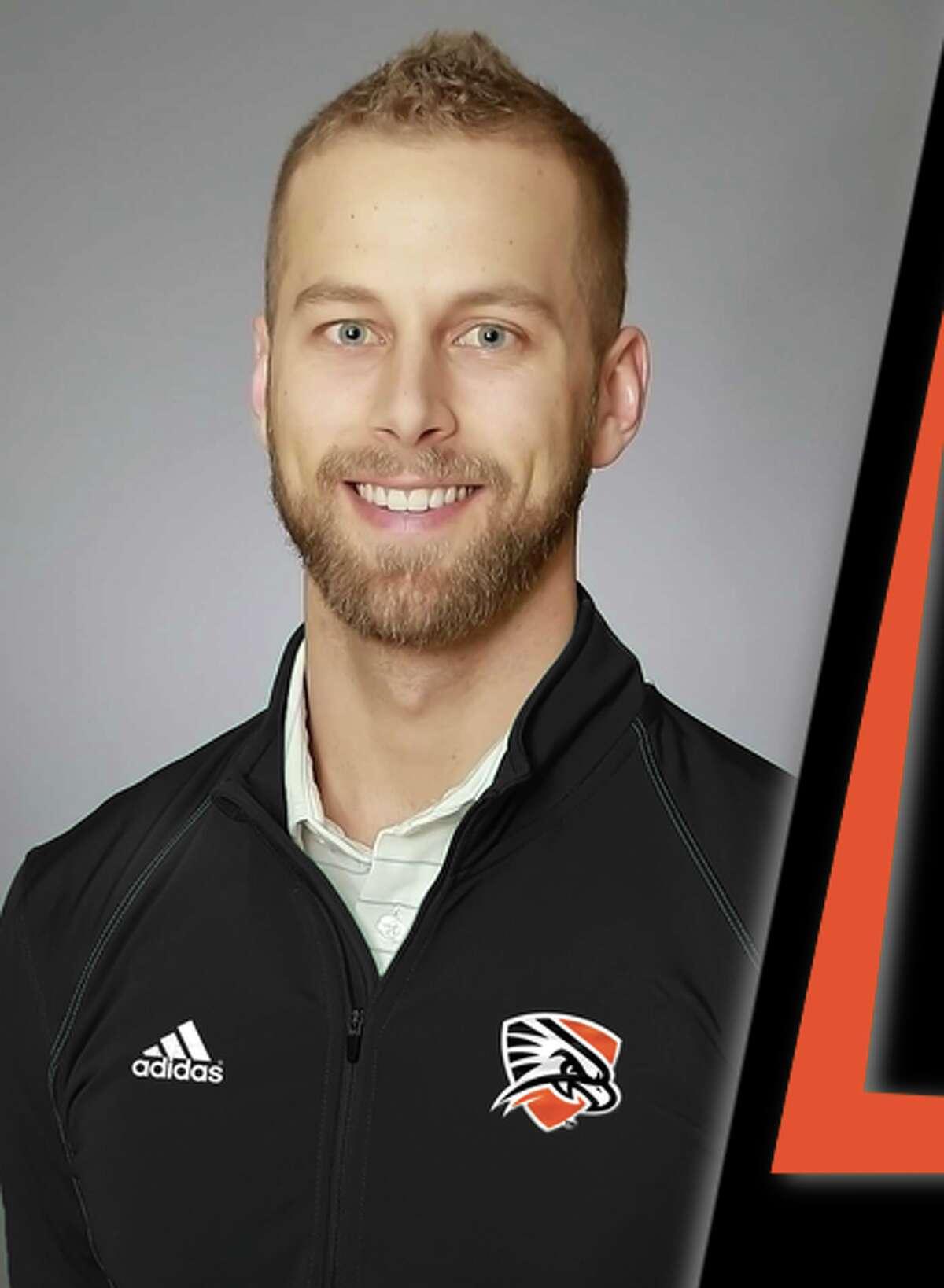 UTPBgolf coach Kyle Wittenbach