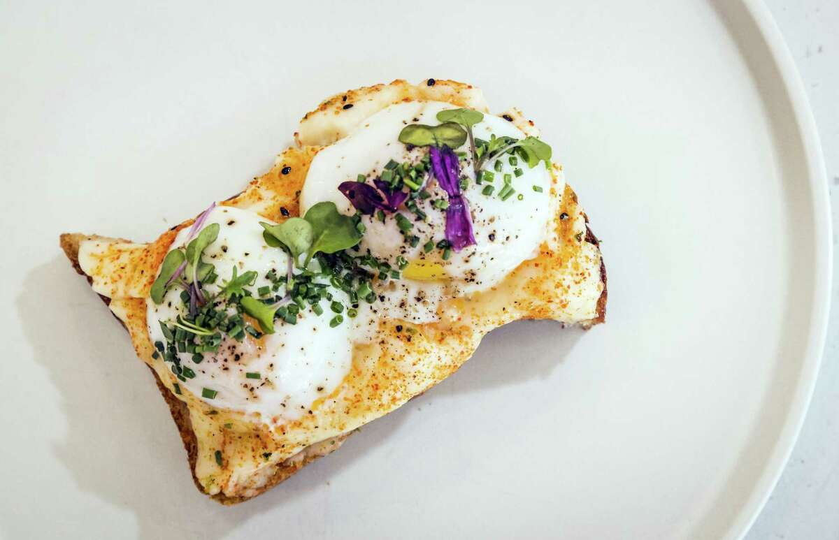 The Mashup at Spro cafe in S.F., a new cafe serving food and boundary-pushing coffee drinks.