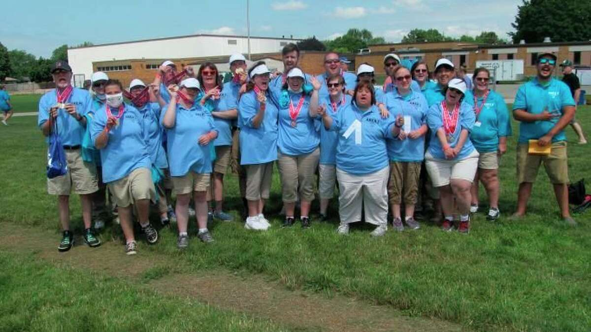 The athletes who participated in the bocce competition in the2021 Special Olympics Michigan State Summer Games. (Courtesy/Pat Rosales)
