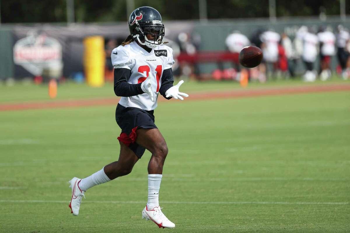 Houston Texans cornerback Bradley Roby (21) wants to put 2020 behind him.