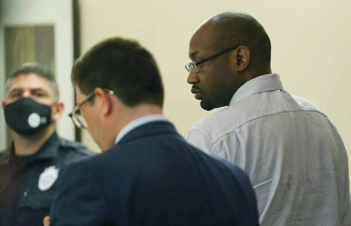 Otis McKane's defense attorneys present their expert witnesses during the punishment phase of his capital murder trial on Thursday. McKane was convicted last week of the 2016 killing of SAPD Detective Benjamin Marconi.